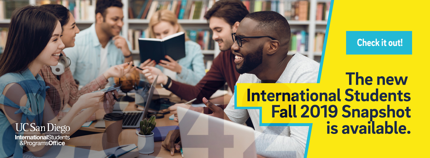 International Students Fall 2019 Snapshot